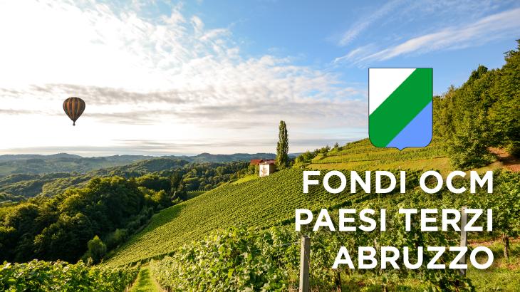 Ecco il bando OCM Vino Abruzzo Paesi Terzi 2019