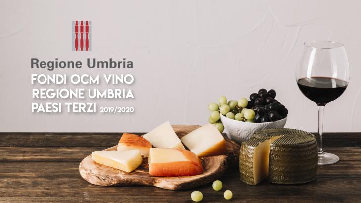 Esporta vino all'estero con i fondi OCM Vino Umbria Paesi Terzi 2019/2020