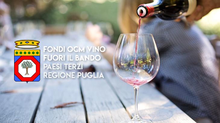 Pronto il bando OCM Vino Puglia – Paesi Terzi 2019 / 2020