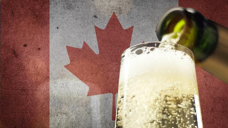 Lo spumante italiano conquista il Canada: boom di importazioni nel Paese