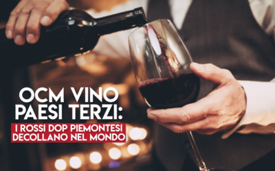I Rossi DOP Piemontesi decollano:merito dei fondi OCM Paesi Terzi